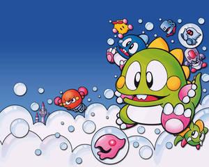 bubble bobble wallpaper 01