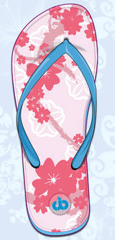 Sandalia primavera japonesa