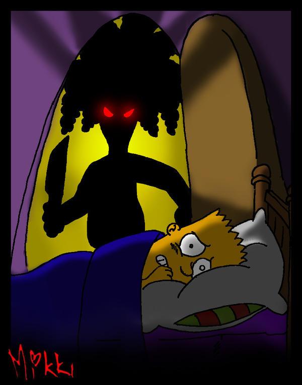 Simpsons: Death opens my door by MagicMikki