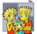 Simpsons: The kids-Manga style