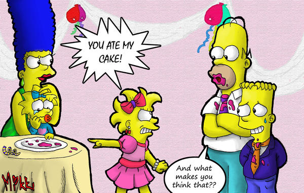Simpsons: Happy B-day Lisa :P by MagicMikki