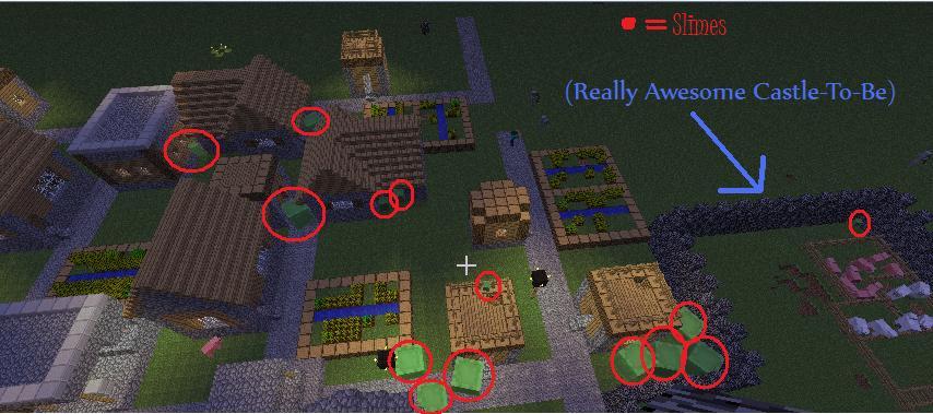 Minecraft: Slime Raid! by hannahml on DeviantArt