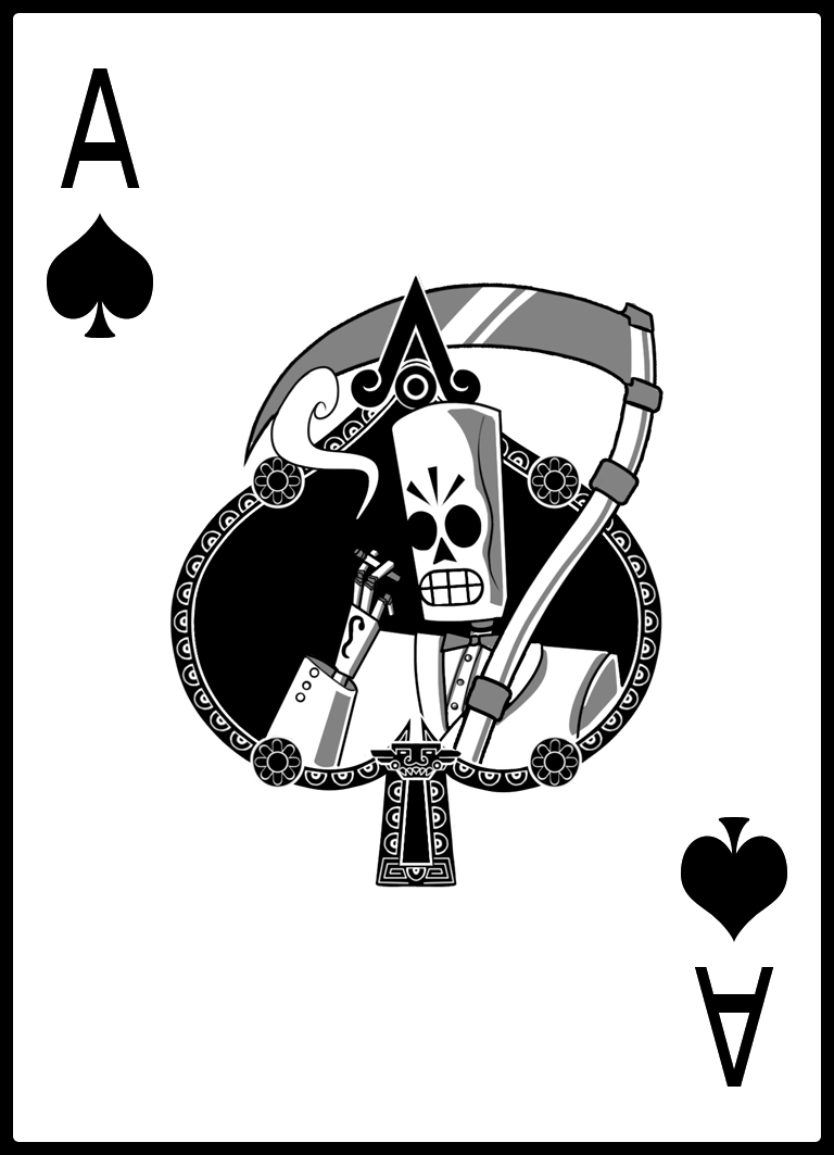 Ace of Spades Drawings