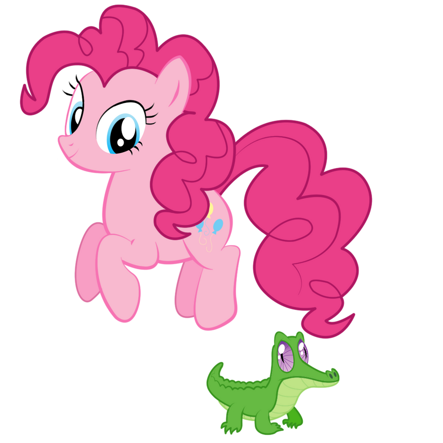 Pinkie Jumpin' And Gummi... Well, Bein' Gummi by techs181