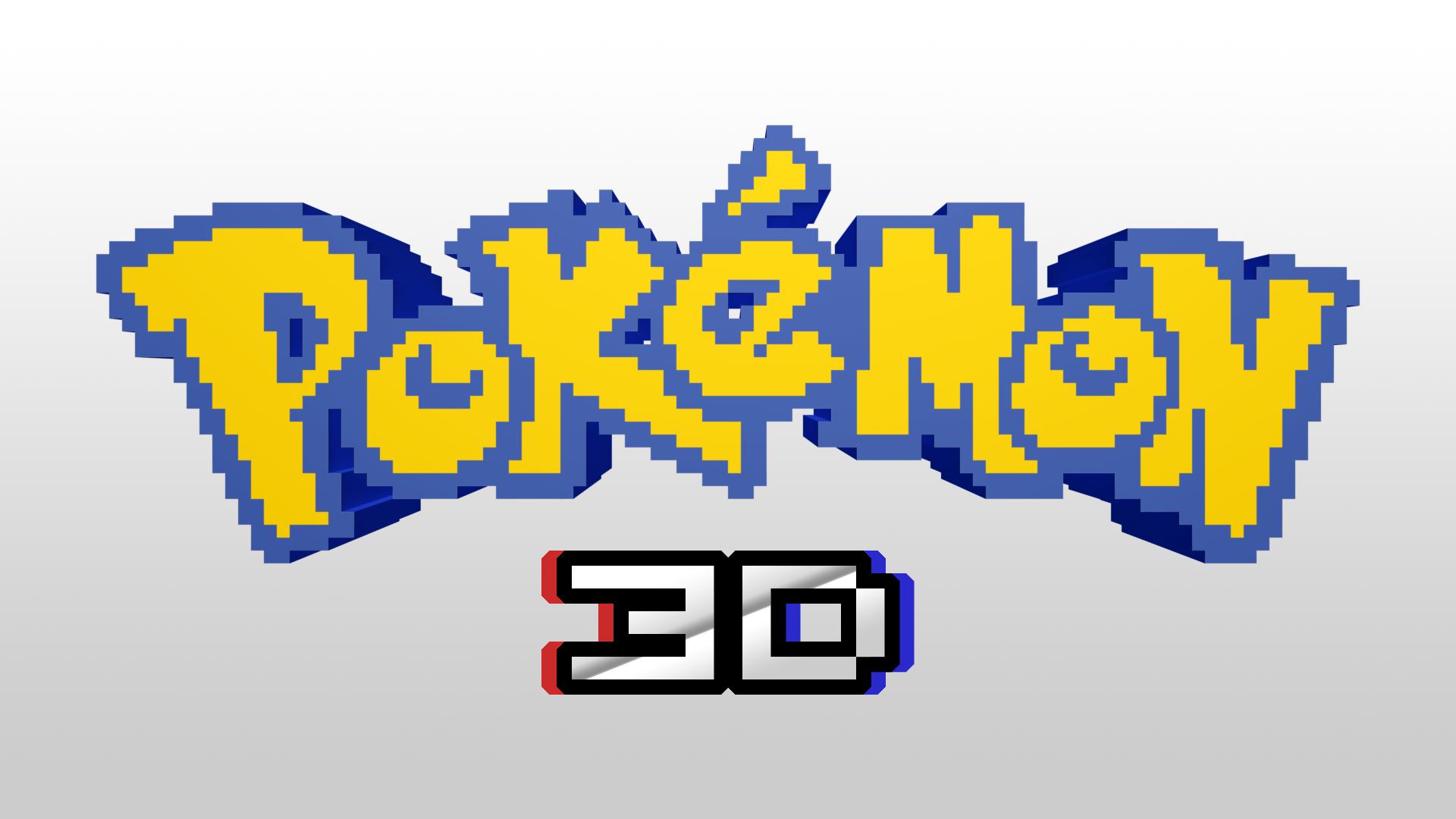 Pokemon 3d Logo Concept 341585142