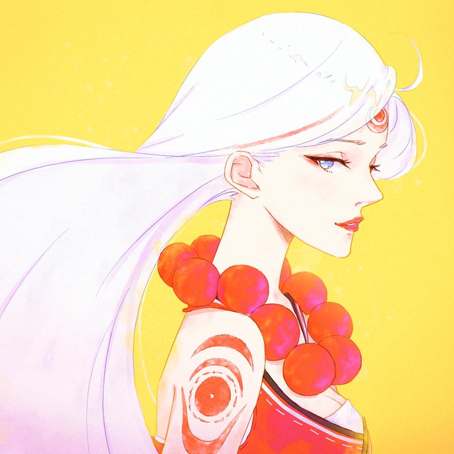 Secret Santa | Blood Moon Diana by Jinkkap