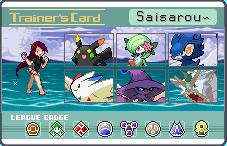 trainer card: saisarou by chii-san-09