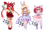 Lolita Sonic Adopts by Toon-Fawn