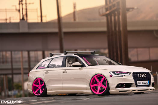 The Audi S6 Stanced