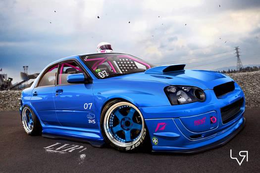 Subaru STI track day