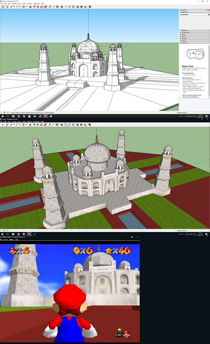 Taj Mahal LowPoly 3D by Jameswhite89