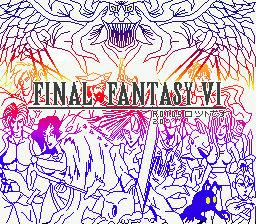 Final Fantasy VI R.O.T.D.S 2.0 Splash screen