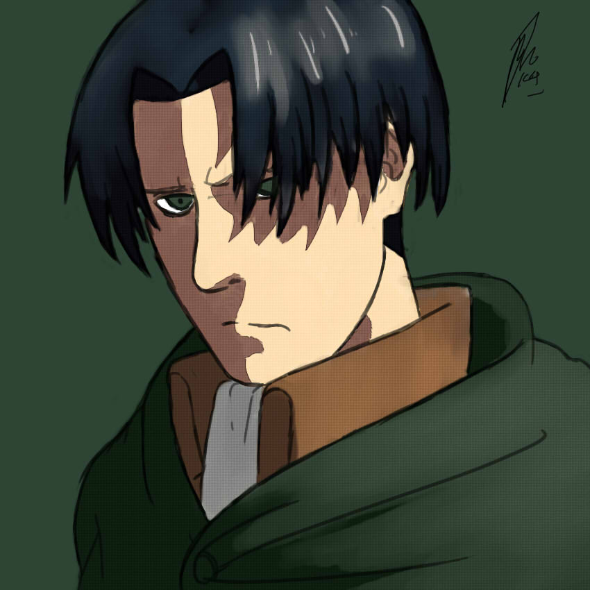 LEVI (ATTACK ON TITAN) by naterdawg102179