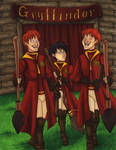 SS-PS: First Quidditch Match