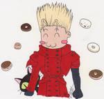 Vash Donuts by CrystallineColey
