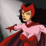 Scarlet Witch: Daily Sketch Challenge by CrystallineColey