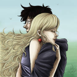 Luna Lovegood And Harry Potter On Quality Hp Fanart Deviantart