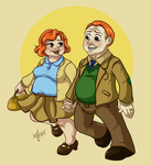 HP: Molly And Arthur Weasley