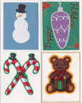 Holiday Card Project 2013 Cards 2 by CrystallineColey