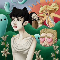 Awkward Hades by CrystallineColey