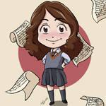 Itty Bitty Hermione by CrystallineColey