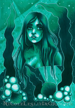 July Copic Colors Underwater Thing