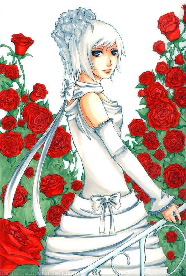 The White Rose by LadyZiel