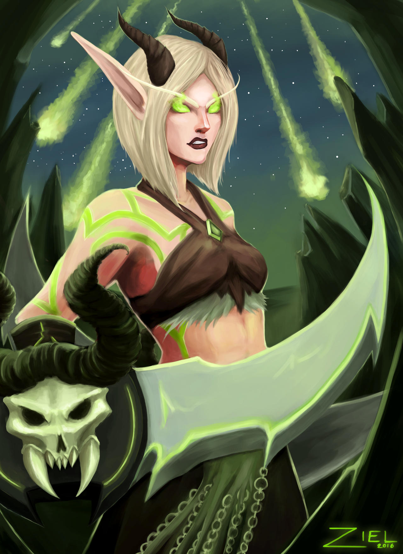 -: Demon Hunter :- by LadyZiel