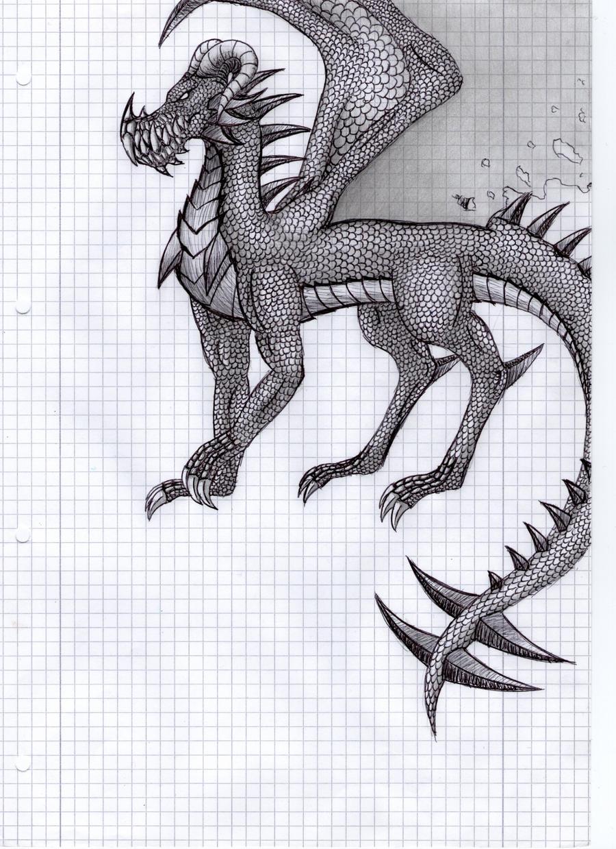 Dragon 2 by DarkSilverTiger