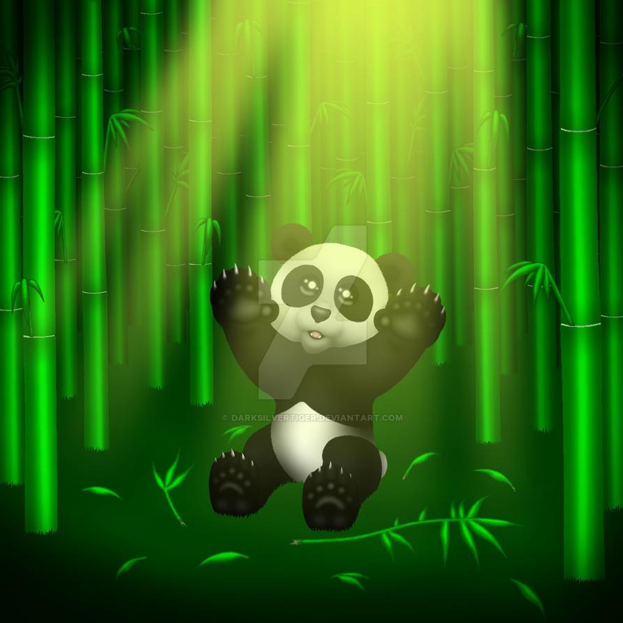 Panda by DarkSilverTiger