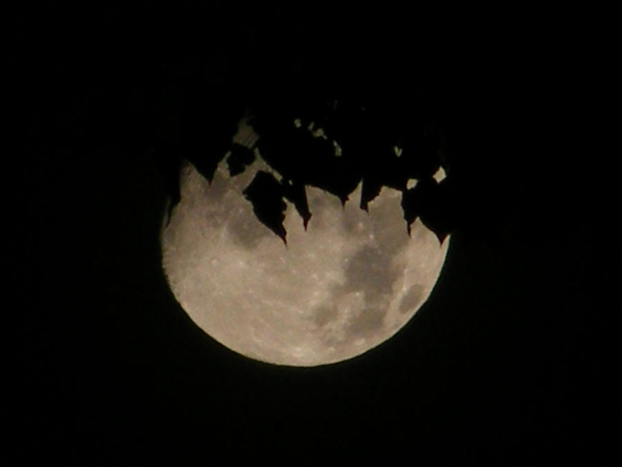 Disintegrating Moon