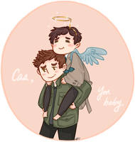 Cas, you baby. by fangqian