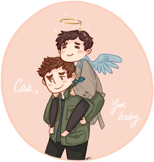 Cas, you baby. by fangqian