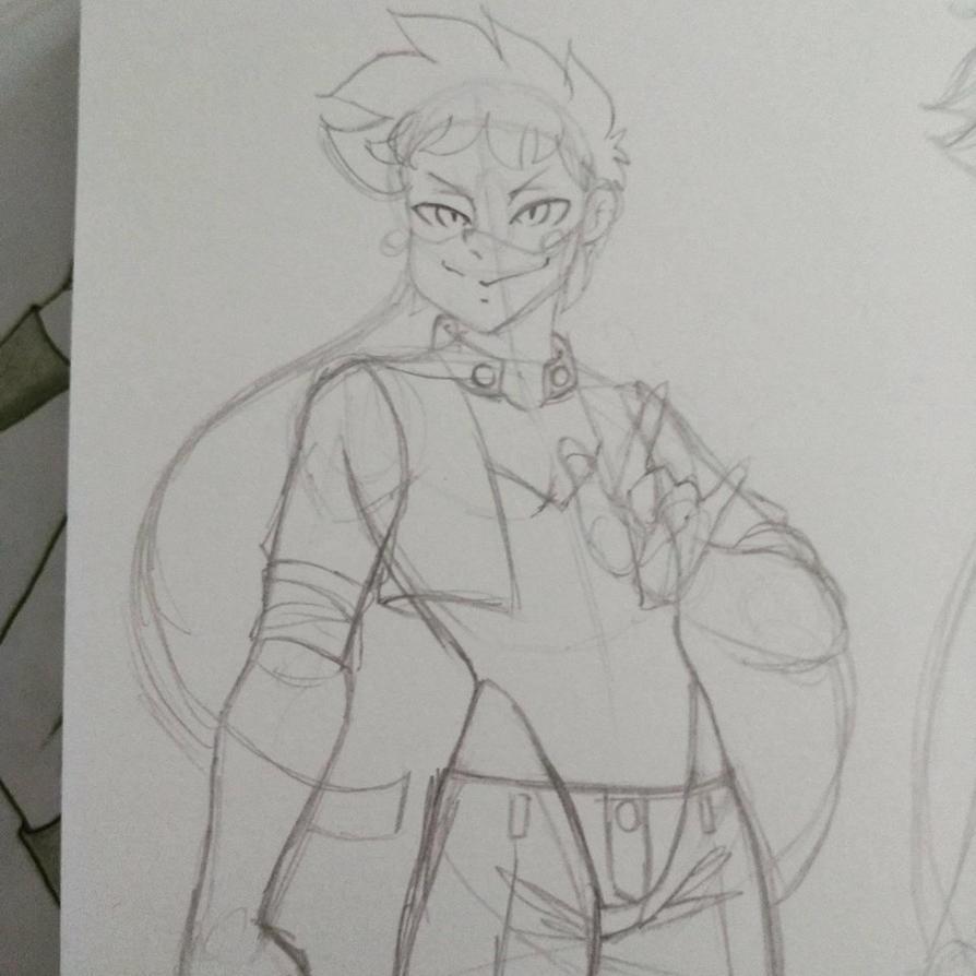 Sketch Captain Kiskadee by ElenaMP
