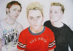 Green Day colour drawing