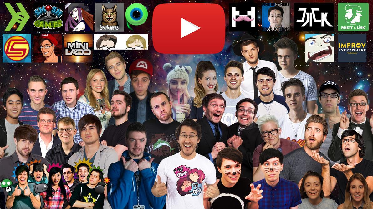 Some of my favorite youtubers wallpaper by kurtklaineblaine on deviantart - Ldshadowlady wallpapers ...