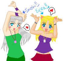 + InUsHi and ErIcA +