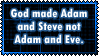 Adam and Steve by Craptrap