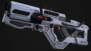 Plasma Gun (Game ready asset)