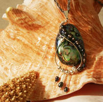 Abalone Pendant by SabrinaFranek