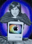 Steve Jobs by SabrinaFranek