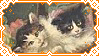 Two Kets {stamp} by spicycatz