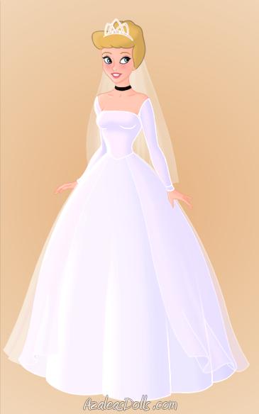 Cinderella's wedding dress. by GreyWardenNatasha on DeviantArt