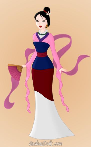 Mulan's matchmaker outfit. by GreyWardenNatasha on DeviantArt