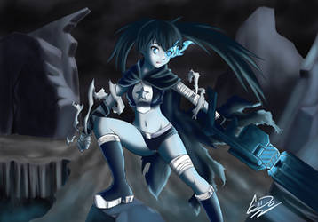 Black Rock Shooter by EidoShooter