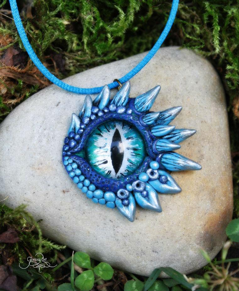 Ice dragon eye pendant by gloriosa art on deviantart ice dragon eye pendant by gloriosa art aloadofball Gallery