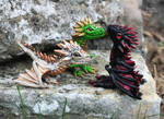 Baby dragons - figurine