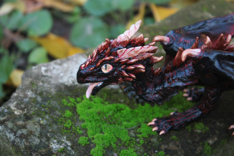 Drogon dragon sculpture by Gloriosa-Art on DeviantArt
