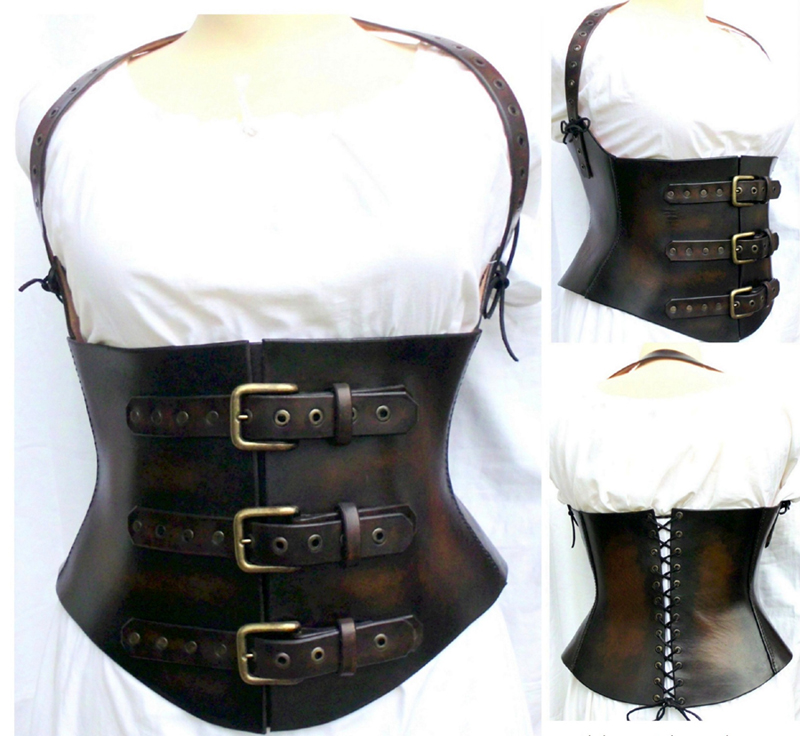 Under Bust Corset Steampunk by WildeMaide