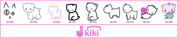 Kiki Progression by jmillgraphics